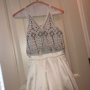 Silk/Metallic Bebe Dress